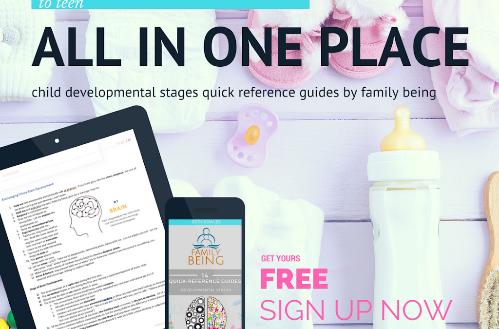 My Gift to You: Free Quick-Reference Child Development Guide for Ages 0-18