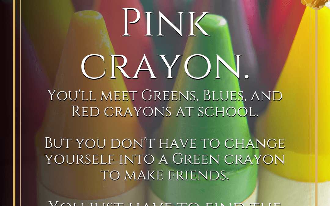 The Pink Crayons: A Story to Help Your Child With Friendship